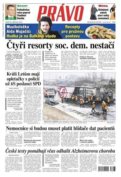 Právo - 20-03-2018 - Elektronické noviny