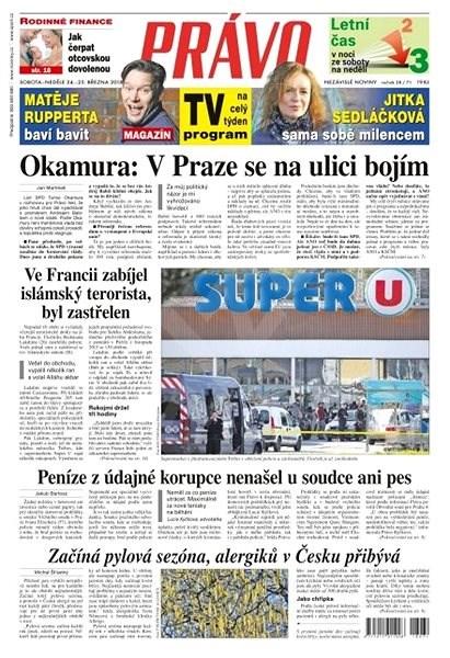 Právo - 24-03-2018 - Elektronické noviny