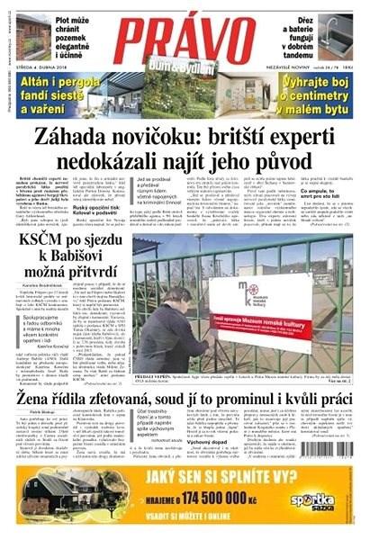 Právo - 04-04-2018 - Elektronické noviny