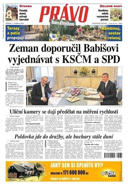 Právo - 11-04-2018 - Elektronické noviny