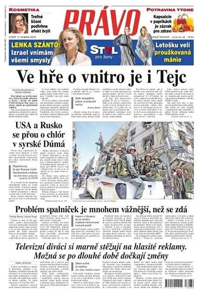 Právo - 17-04-2018 - Elektronické noviny