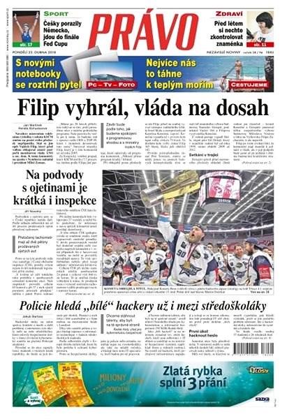 Právo - 23-04-2018 - Elektronické noviny
