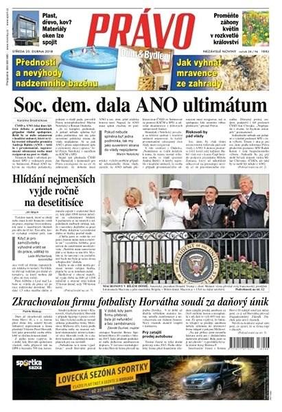 Právo - 25-04-2018 - Elektronické noviny