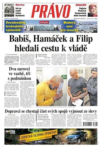 Právo - 27-04-2018 - Elektronické noviny