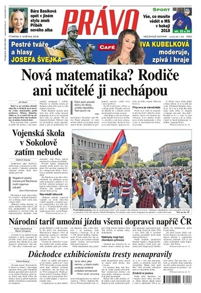 Právo - 03-05-2018 - Elektronické noviny