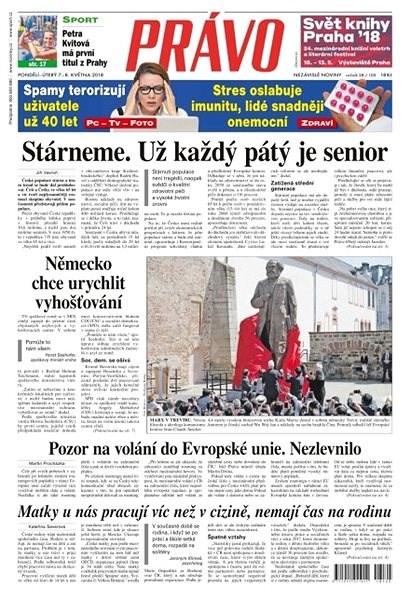 Právo - 07-05-2018 - Elektronické noviny