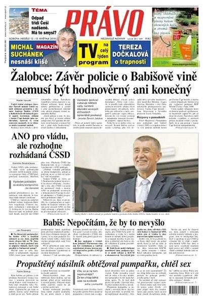 Právo - 12-05-2018 - Elektronické noviny