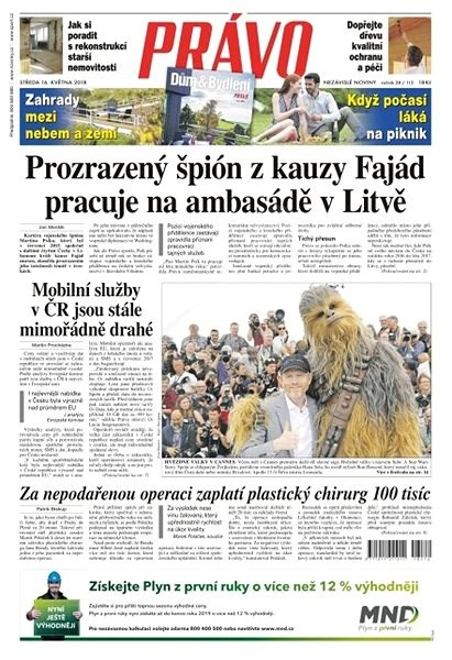Právo - 16-05-2018 - Elektronické noviny