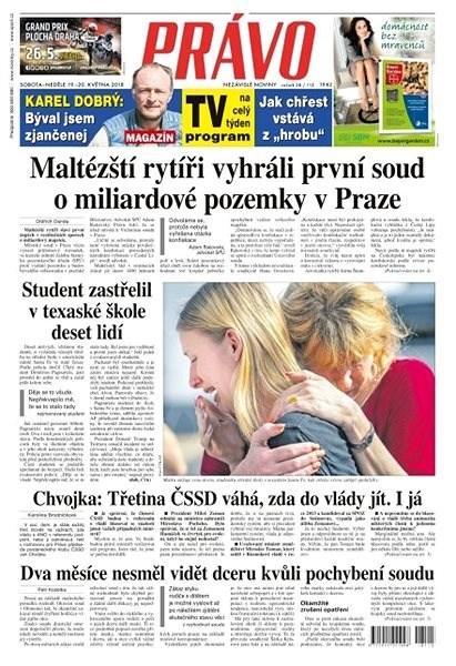 Právo - 19-05-2018 - Elektronické noviny