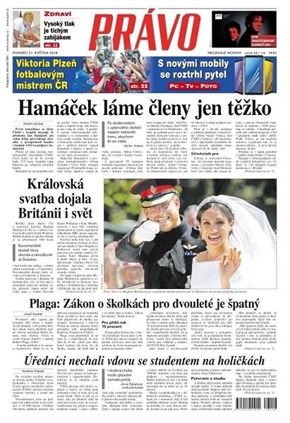 Právo - 21-05-2018 - Elektronické noviny