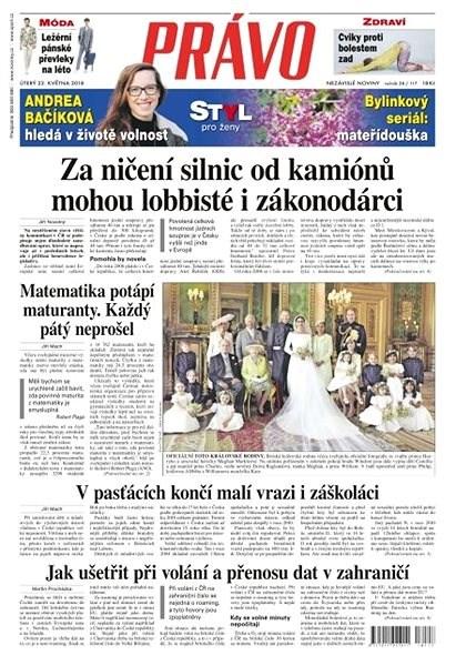 Právo - 22-05-2018 - Elektronické noviny