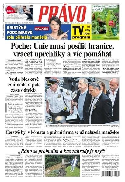 Právo - 26-05-2018 - Elektronické noviny