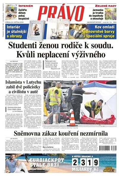 Právo - 30-05-2018 - Elektronické noviny