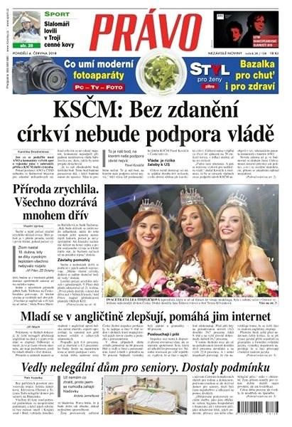 Právo - 04-06-2018 - Elektronické noviny
