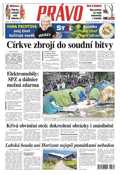 Právo - 05-06-2018 - Elektronické noviny