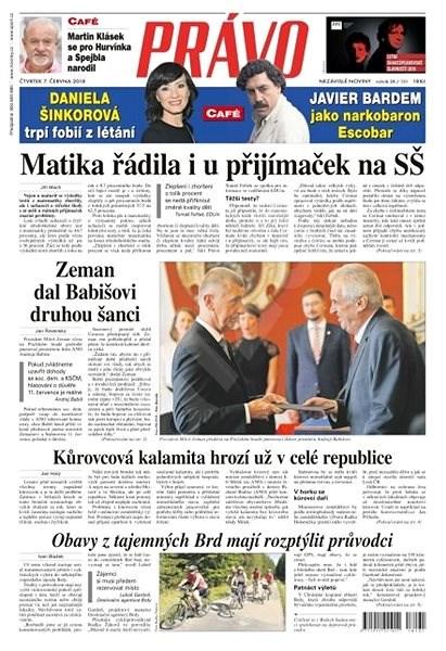 Právo - 07-06-2018 - Elektronické noviny