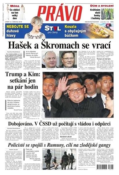 Právo - 12-06-2018 - Elektronické noviny