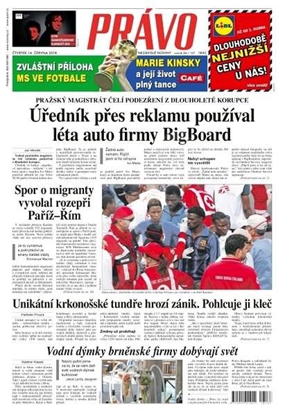 Právo - 14-06-2018 - Elektronické noviny