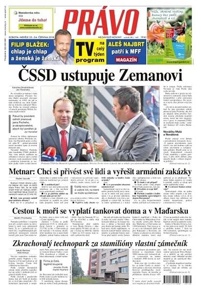 Právo - 23-06-2018 - Elektronické noviny