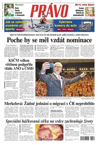 Právo - 02-07-2018 - Elektronické noviny