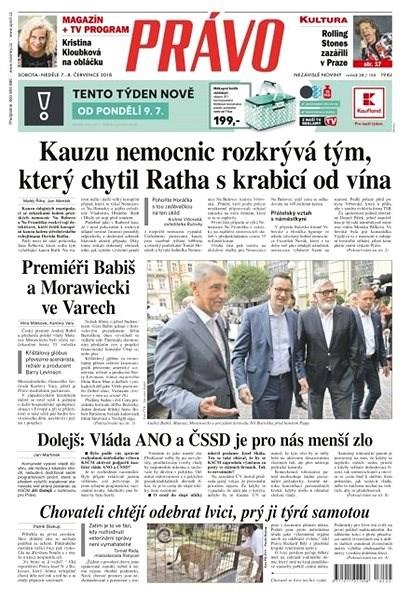 Právo - 07-07-2018 - Elektronické noviny