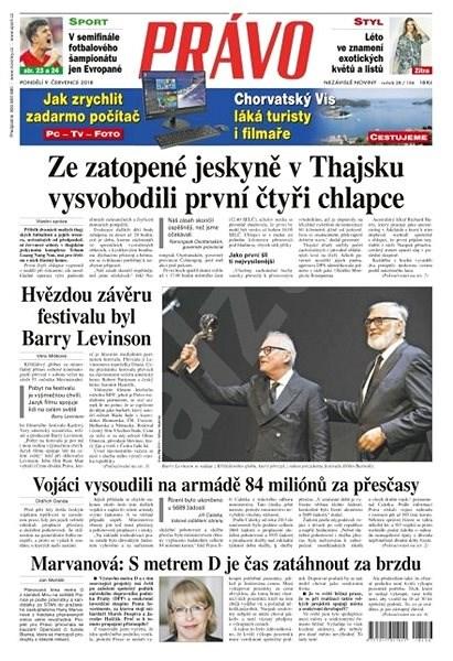 Právo - 09-07-2018 - Elektronické noviny