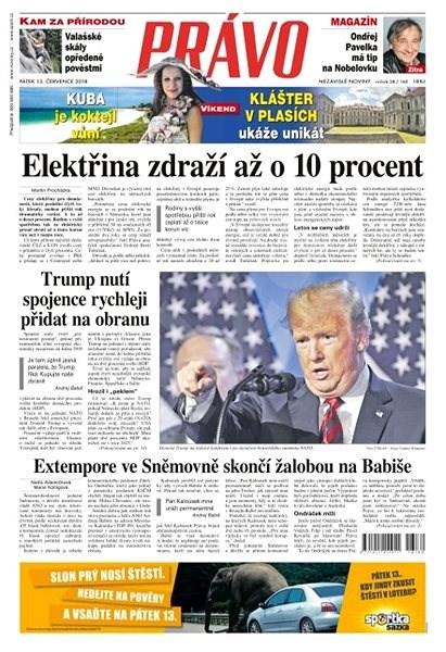 Právo - 13-07-2018 - Elektronické noviny