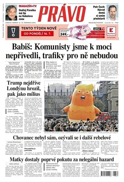 Právo - 14-07-2018 - Elektronické noviny