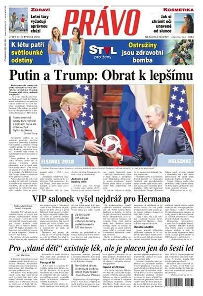 Právo - 17-07-2018 - Elektronické noviny