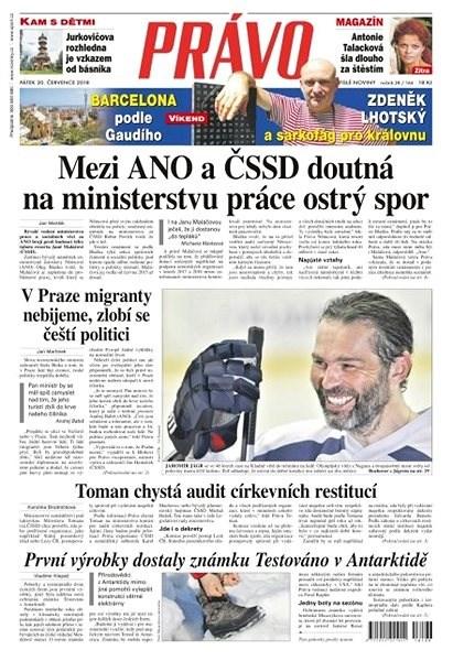 Právo - 20-07-2018 - Elektronické noviny