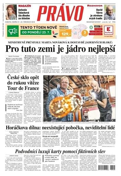 Právo - 21-07-2018 - Elektronické noviny