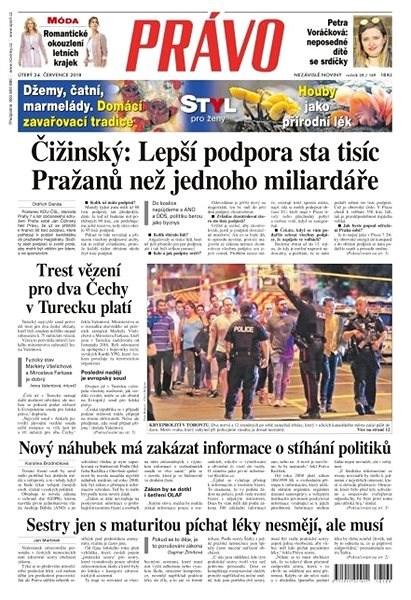 Právo - 24-07-2018 - Elektronické noviny