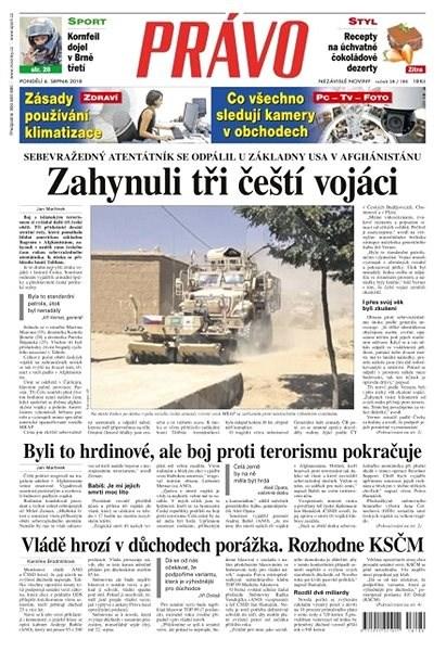 Právo - 06-08-2018 - Elektronické noviny