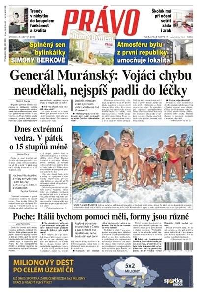 Právo - 08-08-2018 - Elektronické noviny