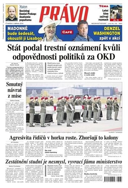 Právo - 09-08-2018 - Elektronické noviny