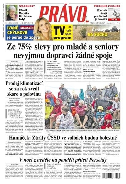 Právo - 11-08-2018 - Elektronické noviny