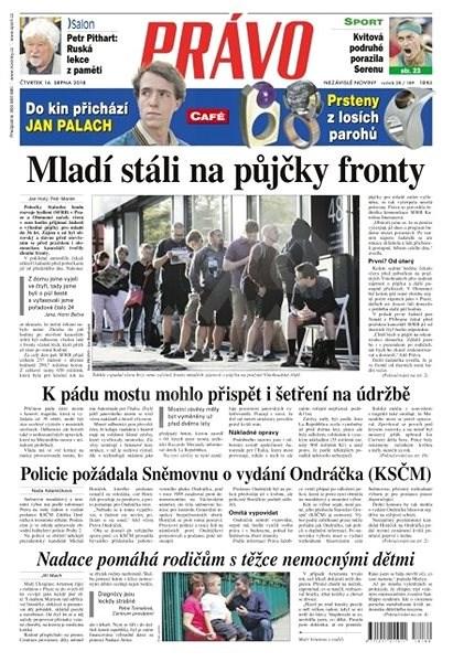 Právo - 16-08-2018 - Elektronické noviny