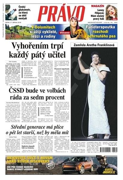 Právo - 17-08-2018 - Elektronické noviny