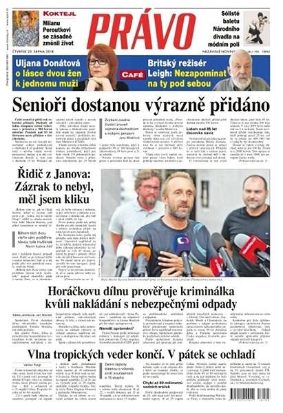 Právo - 23-08-2018 - Elektronické noviny