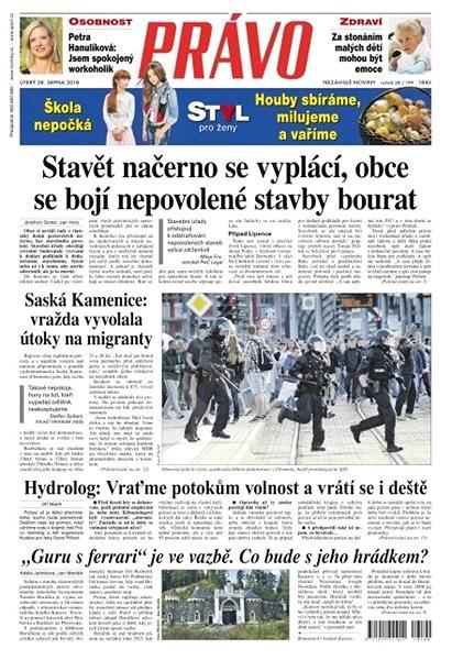 Právo - 28-08-2018 - Elektronické noviny