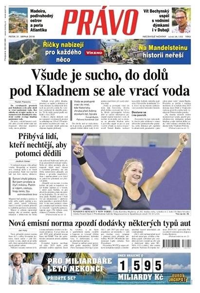 Právo - 31-08-2018 - Elektronické noviny