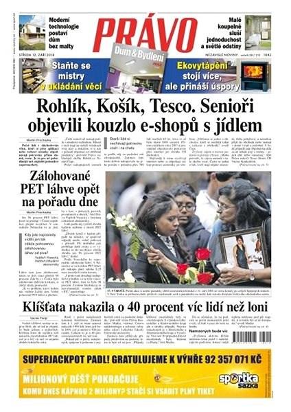 Právo - 12-09-2018 - Elektronické noviny