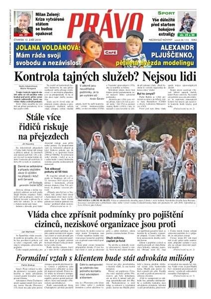 Právo - 13-09-2018 - Elektronické noviny