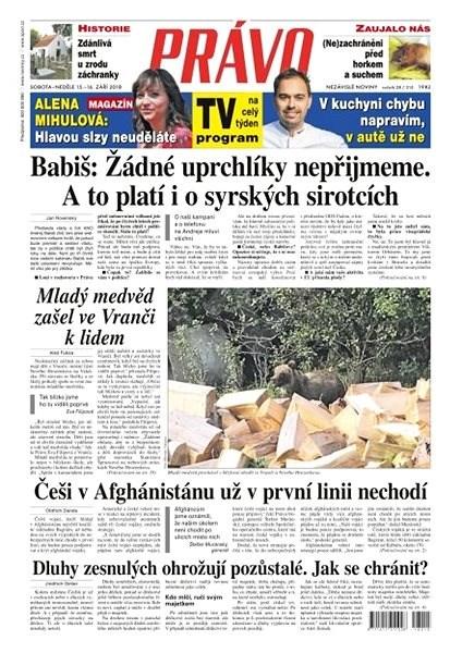 Právo - 15-09-2018 - Elektronické noviny