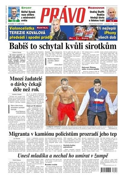 Právo - 17-09-2018 - Elektronické noviny