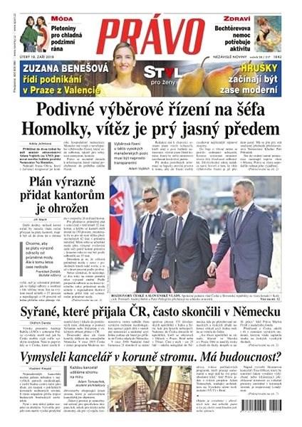 Právo - 18-09-2018 - Elektronické noviny