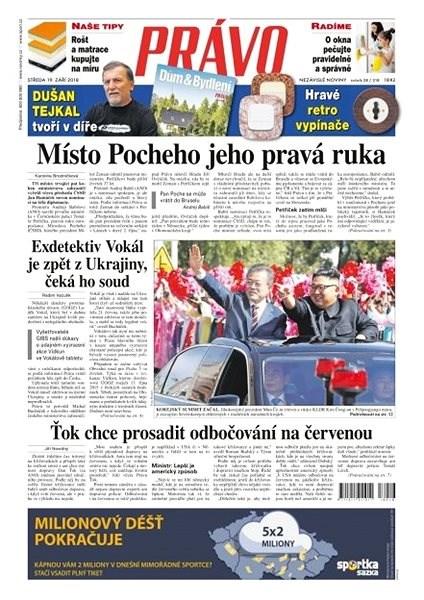 Právo - 19-09-2018 - Elektronické noviny