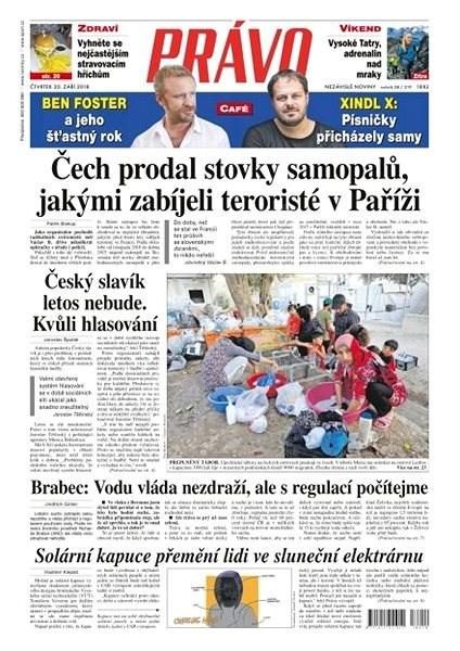 Právo - 20-09-2018 - Elektronické noviny