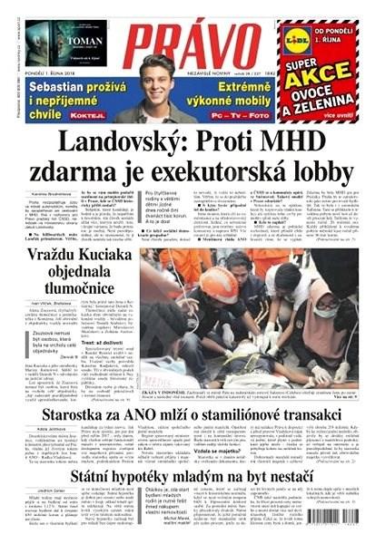 Právo - 01-10-2018 - Elektronické noviny