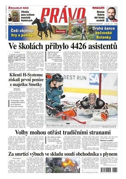 Právo - 05-10-2018 - Elektronické noviny